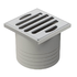 Pressure test plug for floor drain Varino 13 x 13cm