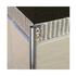 Stainless steel quadrant trim