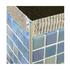 Aluminium terrazzo trim edge