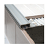 Aluminium Tile-In stair nosing