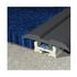 PVC flat clip top