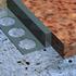 Aluminium slimline listello