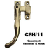 Casement fastener and hook