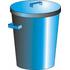 Refuse bin and lid