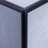 Matt Black Quadrant Edge Corner Piece