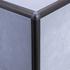 Matt Bronze Quadrant Edge Corner Piece