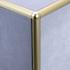 Matt Gold Quadrant Edge Corner Piece