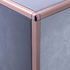 Copper Square Edge Radius Corner Piece