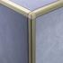 Matt Gold Square Edge Radius Corner Piece