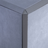 Lead Triangle Edge Corner Piece