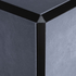 Matt Bronze Triangle Edge Corner Piece