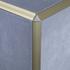Matt Gold Triangle Edge Corner Piece