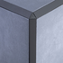 Pepper Triangle Edge Corner Piece