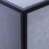 Matt Black Square Edge Corner Piece