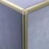 Matt Gold Square Edge Corner Piece