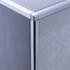 Bright Silver Square Edge Corner Piece