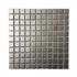 Porcelain Mosaic 25x25mm - Silver