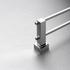 660mm double towel rail