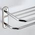Deluxe towel rack