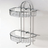 Stainless steel chrome plated semi circular rack with hook