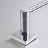 610mm single towel rail
