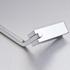 630mm single towel rail