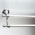 760mm double towel rail
