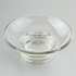 Round glass soap holder