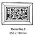 Floral No. 3 Ventilator