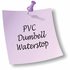 Jayco Dumbell PVC Waterstop