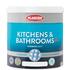 Kitchen and Bathrooms Paint Matt