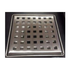 Point drain with slot grating
