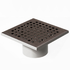 200 x 200mm stainless steel grate (Code: 097701)