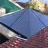 Pyramid glass roof