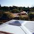 Over jacuzzi roof