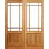 Happy double door with 105mm stiles