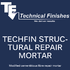 Techfin Structural Repair Mortar