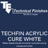 Techfin Acrylic Cure White