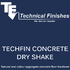 Techfin Concrete Dry Shake