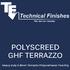 Polyscreed GHF Terrazzo
