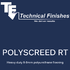 Polyscreed RT